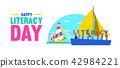 literacy education boat 42984221