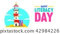 literacy education lighthouse 42984226