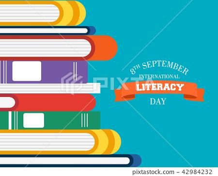 Literacy Day children books for reading education 42984232
