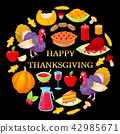 thanksgiving, turkey, pumpkin 42985671