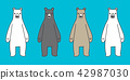 熊 向量 向量圖 42987030