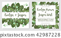 Set of vector illustrations of cute vintage lacy  42987228
