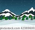 snowy mountain snow 42989600