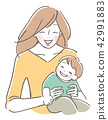 Children and mothers 42991883