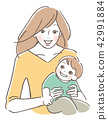 Children and mothers 42991884