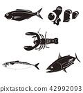 바닷물고기, 물고기, 생선 42992093
