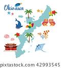 冲绳地图旅游地图 42993545