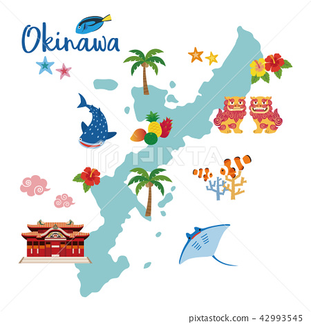Okinawa Map Tourist Map 42993545