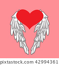 heart and wings 42994361