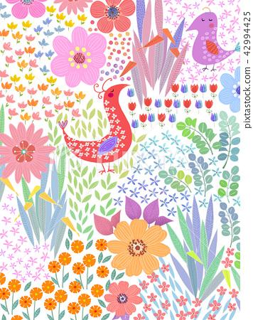花卉圖案 42994425