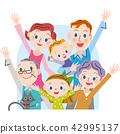 一個開朗的三代家庭 42995137