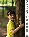 귀여운 어린이! 공원에 간 아이 #1 42995872