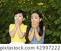 숲속의 어린이! 귀여운 아이들! #1 42997222