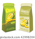 Packing for juice from exotic durian fruit, 42998204