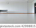 Empty room modern interior 42998815