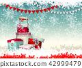 christmas, gift, snow 42999479
