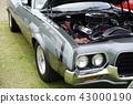 時尚的前面罩,罕見的汽車比El Camino Ford Ranchero Roush發動機更換 43000190