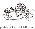 爱知县名古屋市/名古屋城 43000867