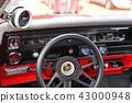 美國汽車標誌別克里維埃拉大排量怪物,拖曳比賽,汽油gab喝7400毫升 43000948