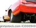 美國汽車標誌別克里維埃拉大排量怪物,拖曳比賽,汽油gab喝7400毫升 43000949