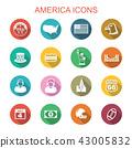 america long shadow icons 43005832