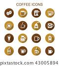 咖啡 图标 商标 43005894
