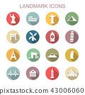 landmark long shadow icons 43006060
