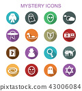 mystery long shadow icons 43006084