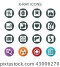 x-ray long shadow icons 43006270