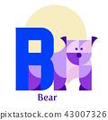 alphabet, letter, character 43007326