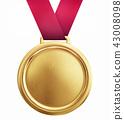 medal, gold, medals 43008098