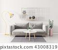 interior sofa room 43008319
