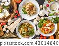 Italian pasta Fettuccine pasta Italian cuisine 43014840
