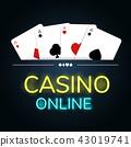 赌场 卡片 赌博 43019741