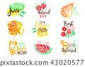 fresh juice fruit 43020577