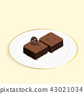 บราวนี่,ช็อคโกแลต,ขนมหวาน 43021034