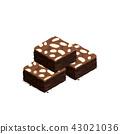 บราวนี่,ช็อคโกแลต,อาหาร 43021036