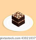 บราวนี่,ช็อคโกแลต,อาหาร 43021037
