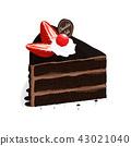 เค้ก,สตรอเบอร์รี่,เชอร์รี่ 43021040