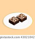 บราวนี่,เค้ก,อาหาร 43021042