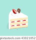 สตรอเบอร์รี่,เค้ก,ขนมหวาน 43021052