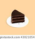 เค้ก,อาหาร,เวกเตอร์ 43021054