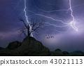 번개, 벼락, 폭풍우 43021113