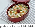 japanese box lunch, salmon bento, meal 43021402