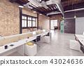 office, interior, modern 43024636