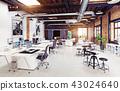 office, interior, modern 43024640