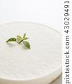 레어 치즈 케이크 43029491