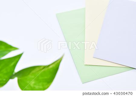 Letter image Pastel color envelope 43030470