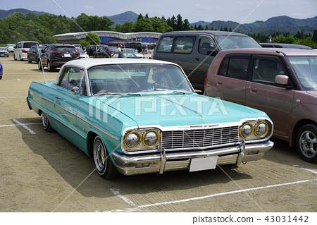 雪佛蘭Impala第三代1964年60年代華麗美國電影符號全尺寸汽車大型車美國品味 43031442