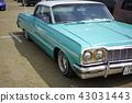 雪佛蘭Impala第三代1964年60年代華麗美國電影符號全尺寸汽車大型車美國品味 43031443